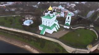 DJI Phantom 3 Pro PSKOV Kremlin(, 2015-11-16T21:19:14.000Z)