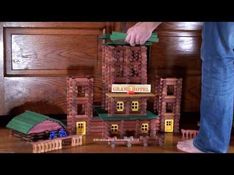 Lincoln Logs - Grand Hotel - Build
