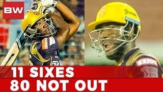 மரண அடி அடித்த Andre Russell | சரமாரி sixes | CSK vs KKR | IPL 2018