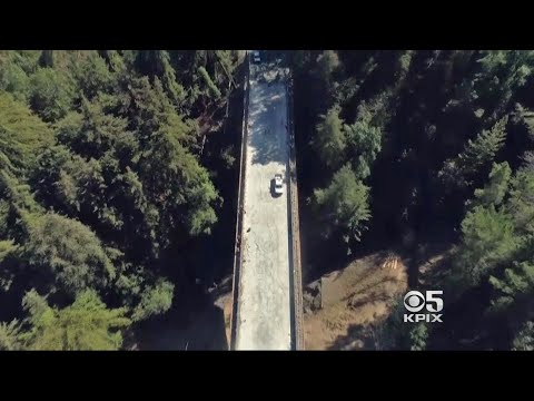 Caltrans Readies Replacement for Storm-Destroyed Pfeiffer Canyon Bridge Near Big Sur