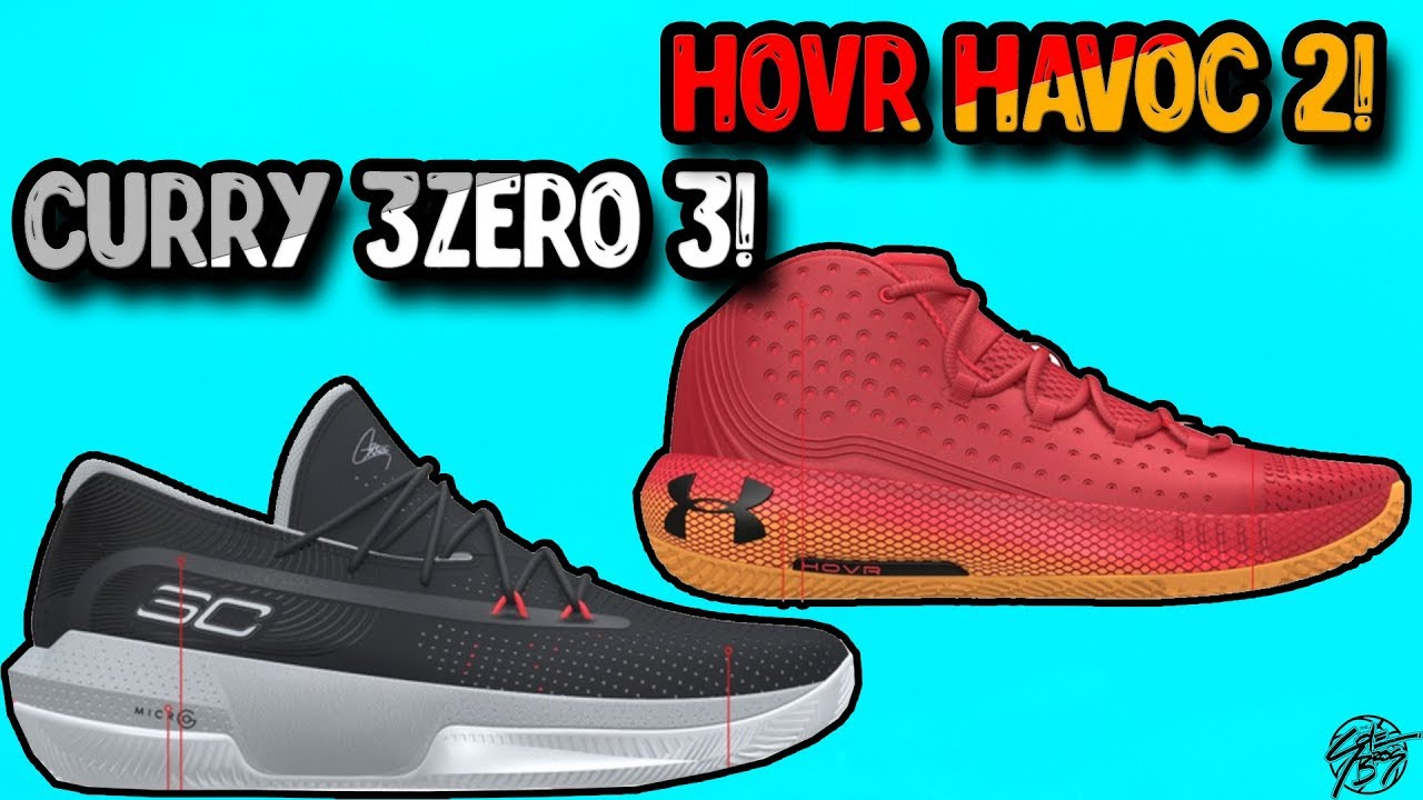 3ff9f2436ff Under Armour Curry 3ZERO 3   Hovr Havoc 2 LEAK + TECH SPECS! The Sole  Brothers