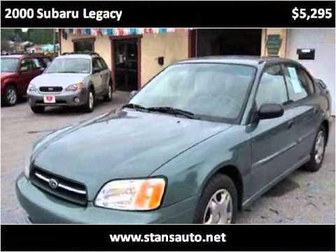 2000 Subaru Legacy Used Cars York PA