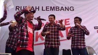Lucunya Gaya Ahok Nge-Rap Bareng Iwa K ^_^