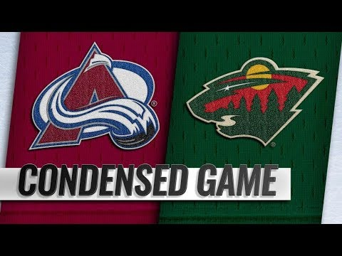 Colorado Avalanche vs Minnesota Wild – Oct.27, 2018 | Game Highlights | NHL 18/19 | Обзор матча