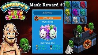 Pewdiepie's Tuber Simulator - Halloween Event Mask Reward #1! - [Great Cthulhu Mask]