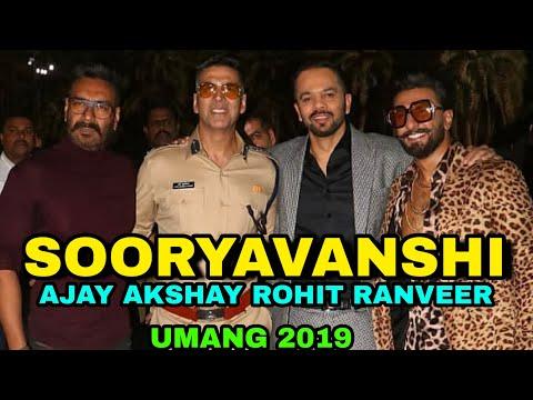 Veer Sooryavanshi With bajirao Singham & Simmba, Umang 2019 Akshay kumar Ajay devgn Ranveer Singh thumbnail