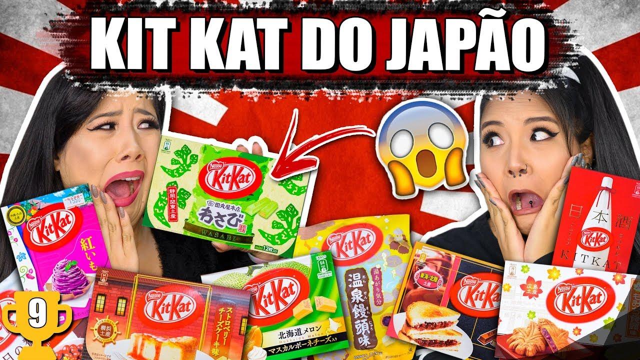 SABORES DIFERENTES DE KIT KAT DO JAPÃO #ESPECIAL1M  | Blog das irmãs
