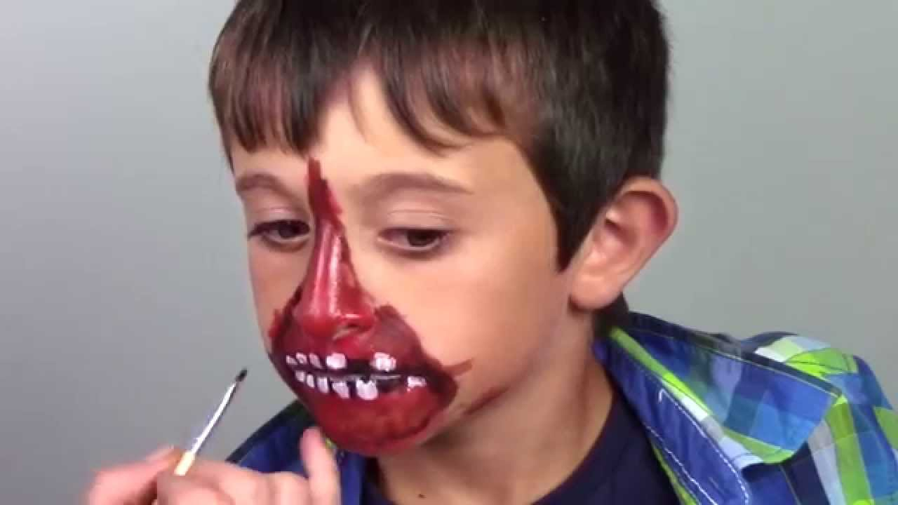 Maquillaje para Halloween Zombie YouTube