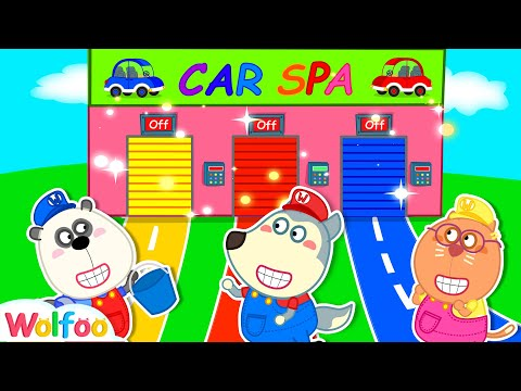 Wolfoo's Playing Profession and Plays with Toy Cars | Wolfoo Family Kids Cartoon