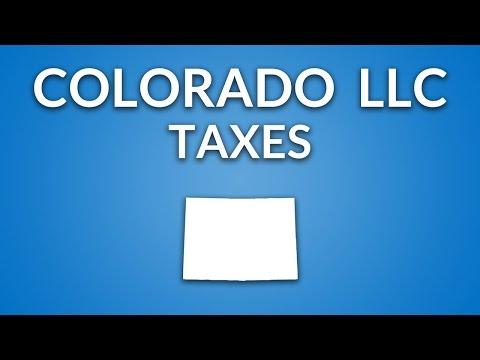 Colorado LLC - Taxes