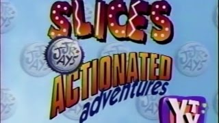 YTV Slices Jr. Jays Actionated Adventures 1994