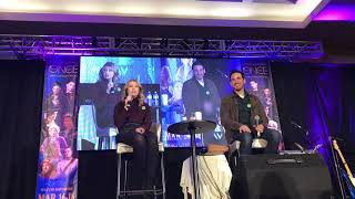 Colin O'Donoghue and Rose Reynolds OUAT Vancouver 2018 Main Panel Part 1