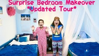 BEDROOM MAKEOVER SURPRISE / UPDATED TOUR