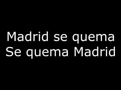 FC Barcelona Song - Madrid se quema (Madrid is burning) (Lyrics)