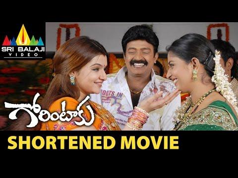 Gorintaku Shortened Movie | Rajasekhar, Aarti Agarwal, Meera Jasmine | Sri Balaji Video
