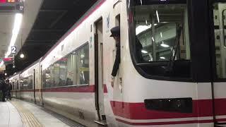 [女性車掌‼️]名鉄1700系 1701f(特急岐阜行き)金山駅 発車‼️