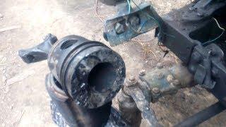 Ремонт двигателя трактора Т 40,заклинил двигатель,побито седло клапана