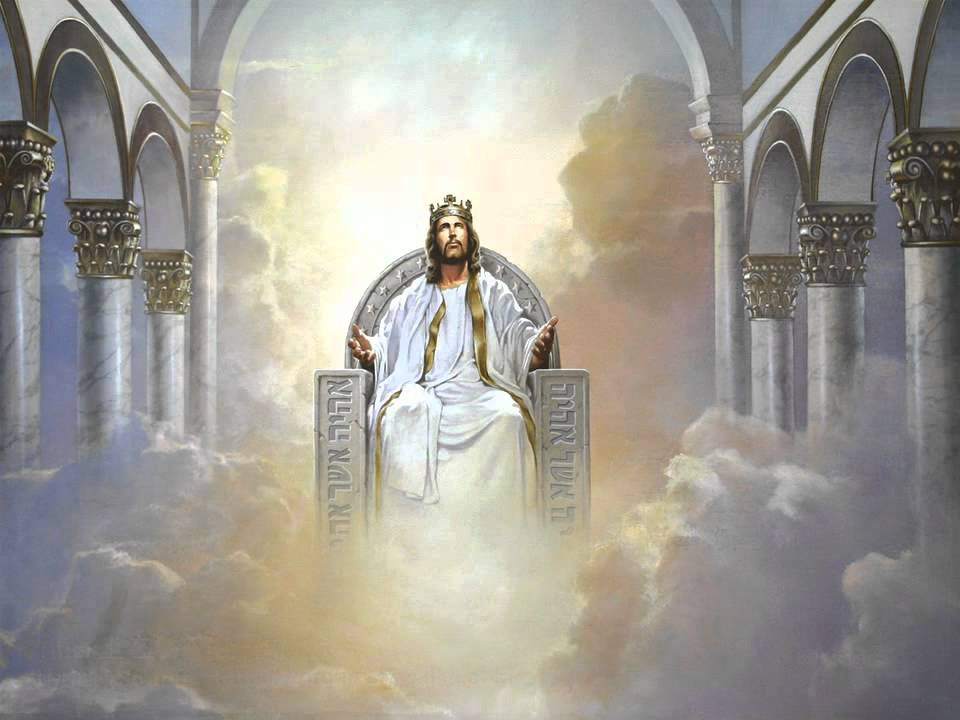 Christian Hymn To Him Who Sits On The Throne Sung In 4
