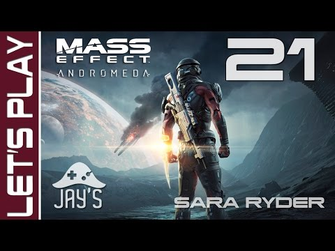 FR Mass Effect Andromeda : Premier Contact  Let's Play Sara Ryder HD  Episode 21