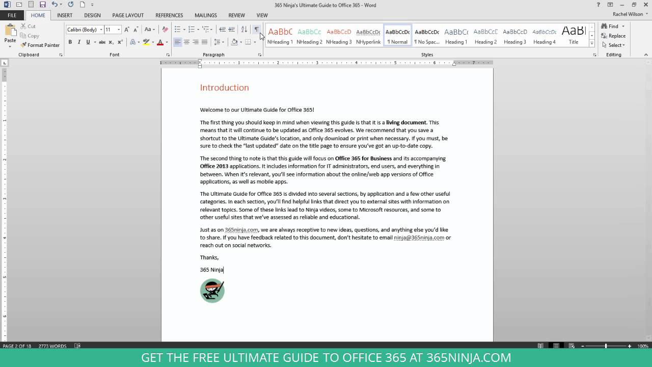 How To Turn Off Paragraph Marks In Word Youtube