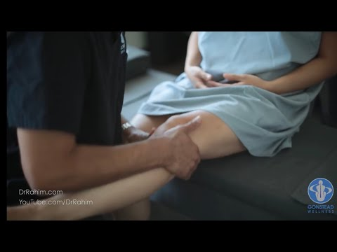 Chiropractor with Knee Pain and Restriction Gets Help with Dr. Rahim