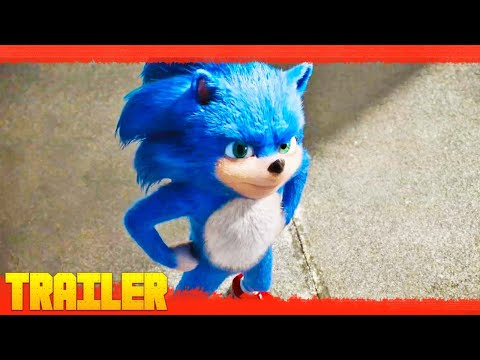 Sonic La Película (2020) Primer Tráiler Oficial Español