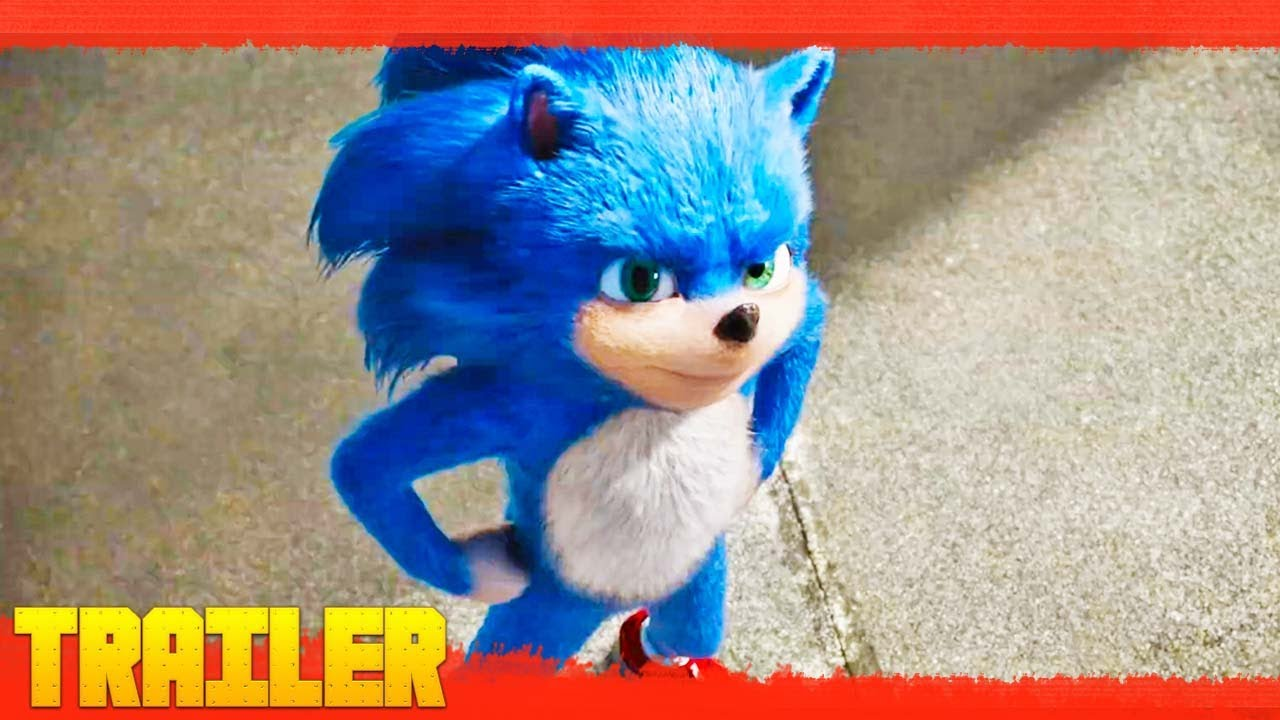 Sonic La Película 2020 Primer Tráiler Oficial Español