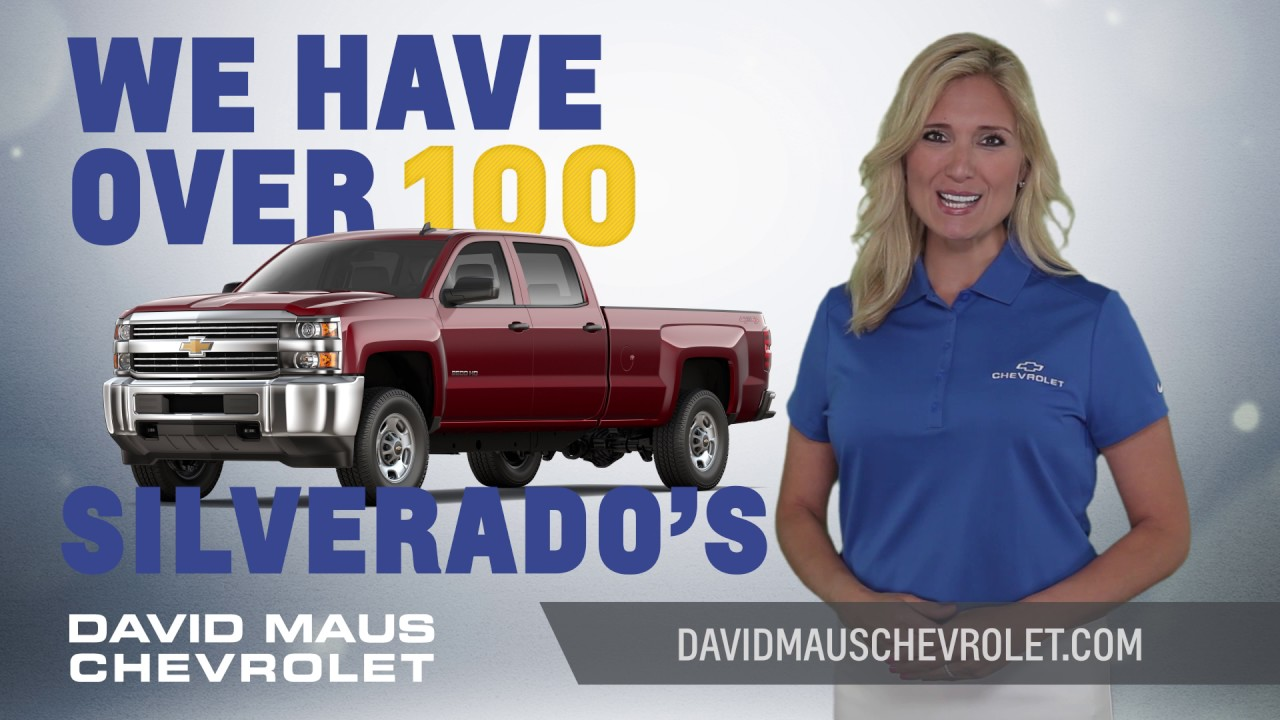 David Maus Chevy >> Memorial Day Sale At David Maus Chevrolet