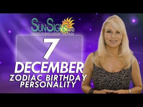 Facts & Trivia - Zodiac Sign Sagittarius December 7th Birthday Horoscope