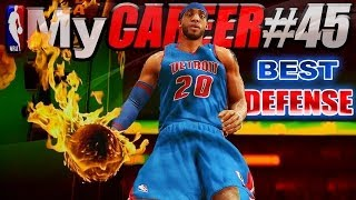 NBA 2K14 MyCareer Playoffs - BEST DEFENSE EVER