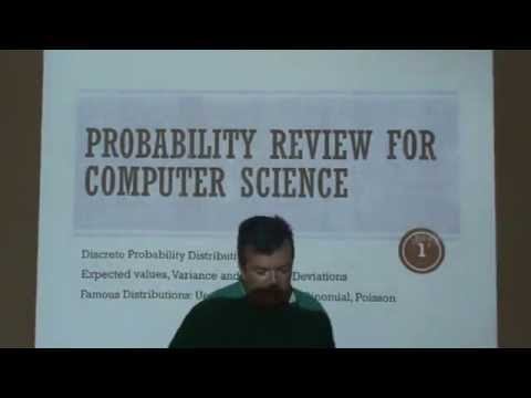 Probability for Computer Science