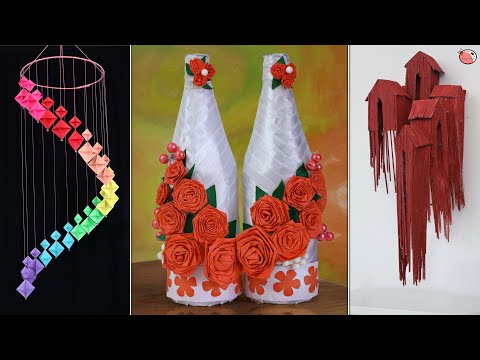 9 DIY Room Decor Projects ! Paper Craft Ideas