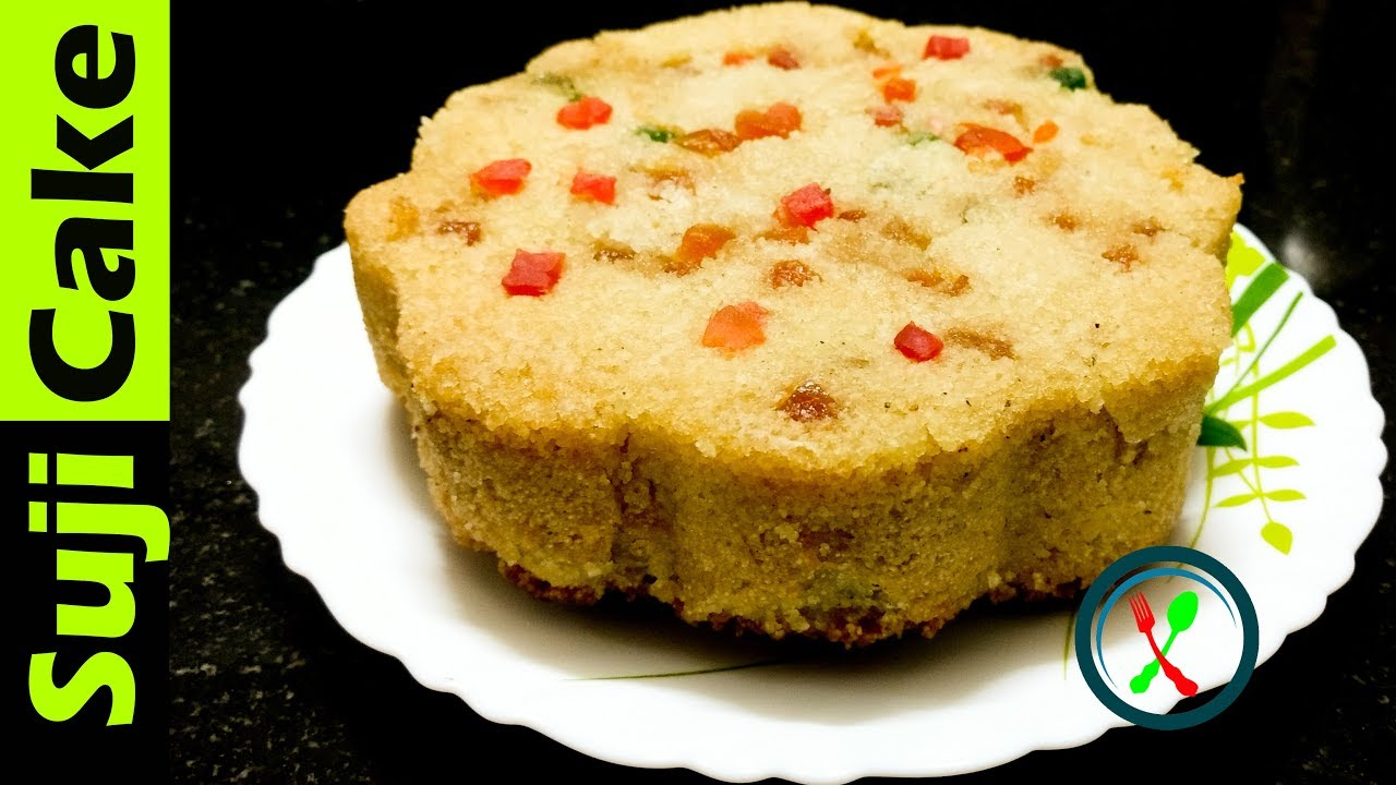 Rava Cake Recipe In Marathi Oven: Semolina Cake Recipe In Microwave