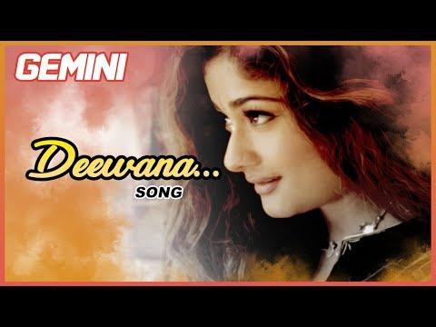 Latest Tamil Hits | Deewana Video Song | Gemini Tamil Movie Songs | Vikram | Kiran | Bharathwaj