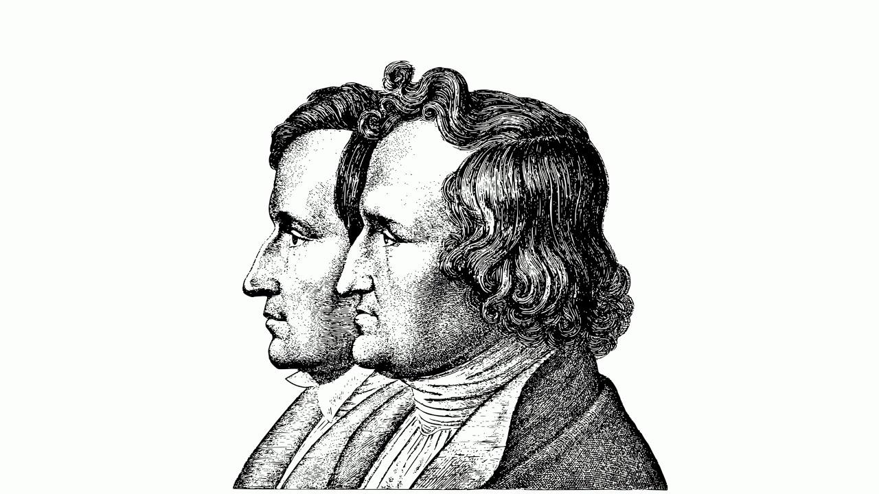 Братья Гримм – великие немецкие сказочники — Общенет | 720x1280
