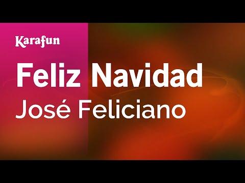Karaoke Feliz Navidad - José Feliciano *