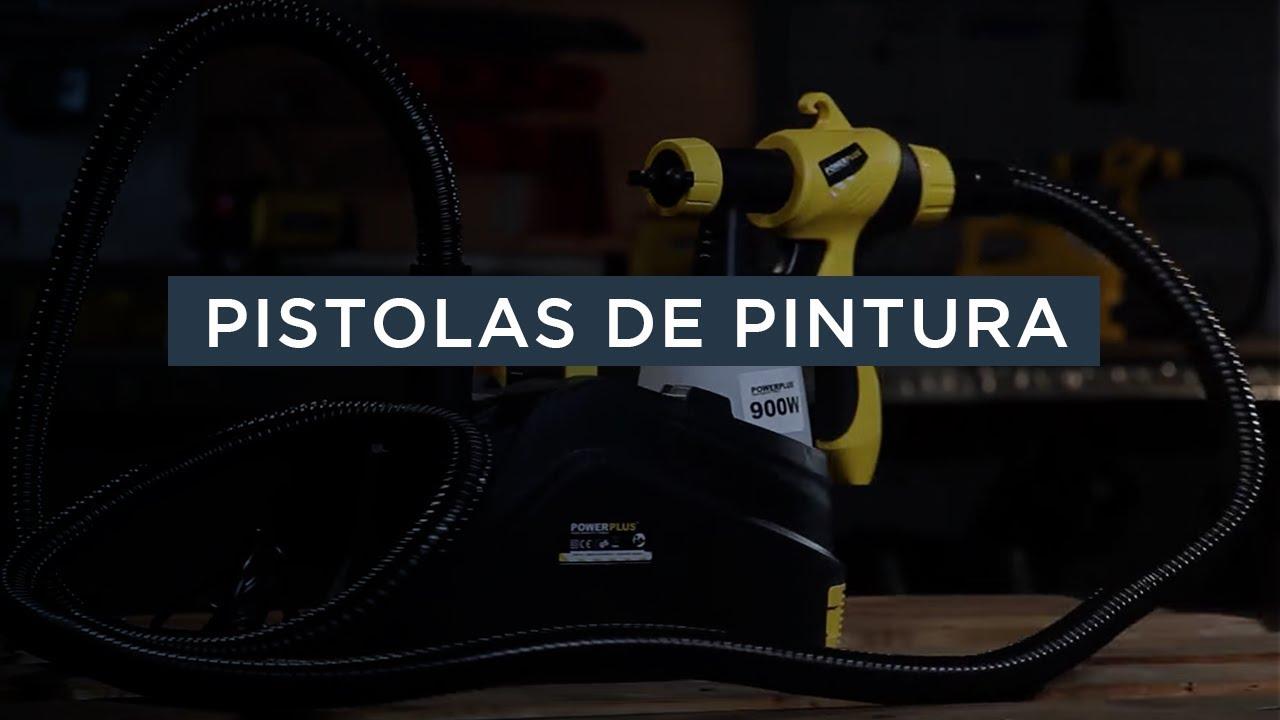 Pistolas de pintura viyoutube - Pistolas de pintura electricas ...