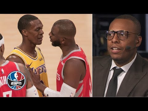 Paul Pierce 'not surprised at all' by Chris Paul - Rajon Rondo fight | After The Buzzer