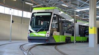 Mikołajki w zajezdni tramwajowej w Olsztynie