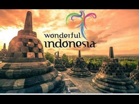 Wonderful Borobudur Temple Century Located In Central Java