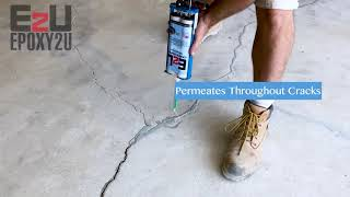 Crack Repair for Concrete Floors