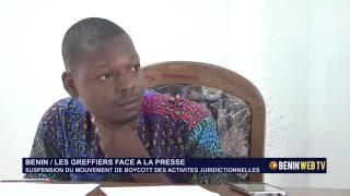 Benin : les greffiers suspendent leur mouvement de boycott des activités juridictionnelles .