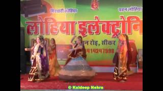 """Aur Rang De Re"" Best Rajasthani Dance in Agarwal Society Fair - 2012.(Video 8 of 10)"
