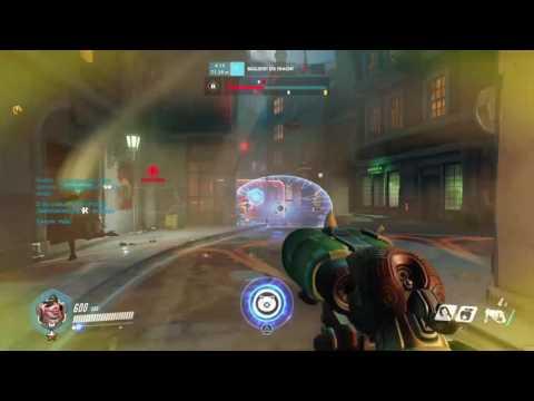 Roadhog saves Tracer