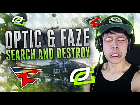 OpTic & FaZe Search And Destroy!!!
