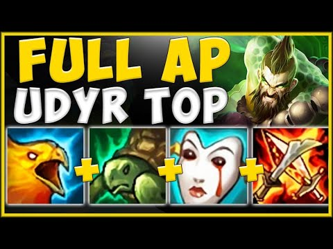 WTF! WHY IS RIOT LETTING AP UDYR DO THIS MUCH DAMAGE?? UDYR SEASON 10 TOP GAMEPLAY League of Legends