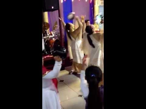 grupo de danza el shaddai Miami