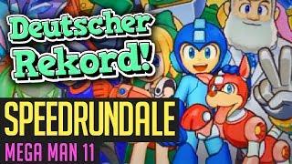 Mega Man 11-Speedrun in 34:19 von Demulant (weltbester Deutscher) | Speedrundale