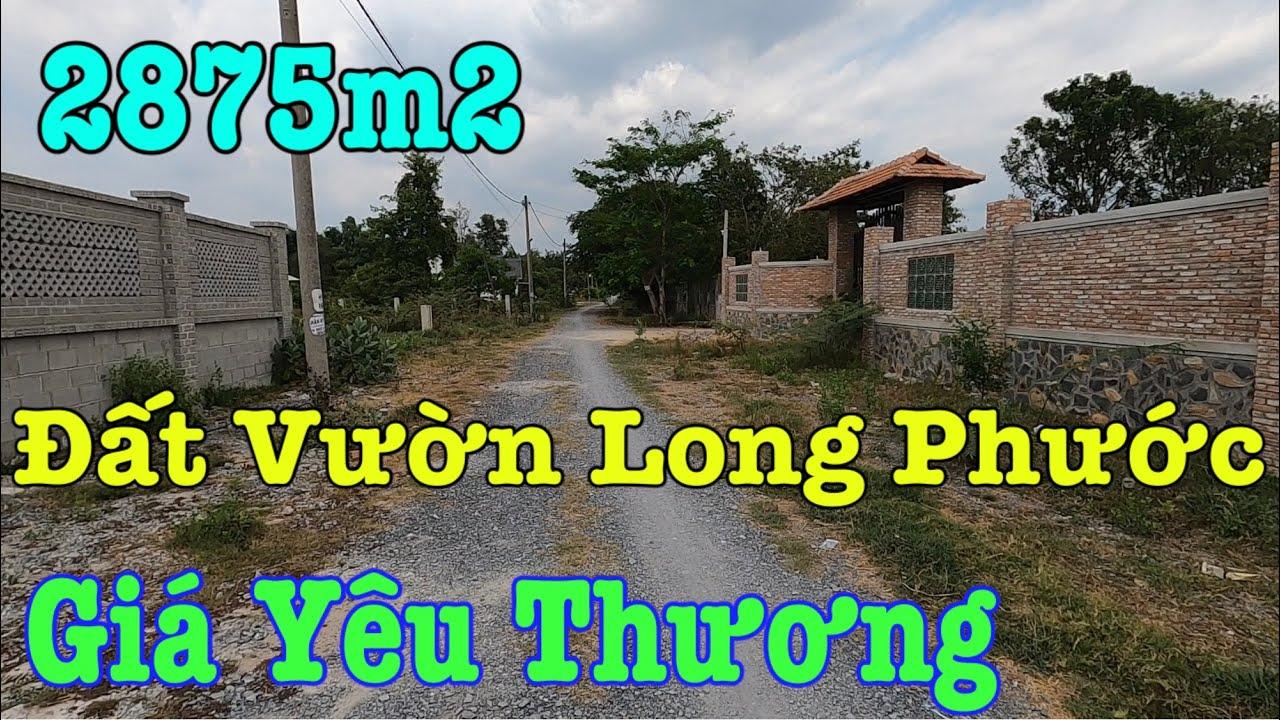 Đất Vườn Long Phước Quận 9 I Xanh Mát Rộng 2875m²