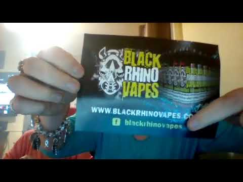 BLACK RHINO VAPES JUICE REVIEW PART ONE